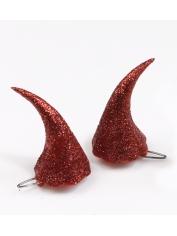 Clip On Devil Horns - Halloween Costumes