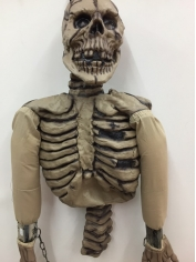 Inflatable Skeleton Top - Halloween Decorations
