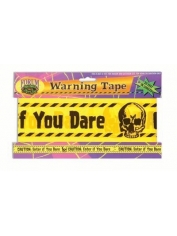 Fright Tape-20 Ft - Halloween Decorations