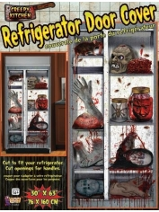Refrigerator Door Cover - Halloween Decorations