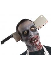Zombie Cleaver Through Head