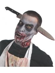 Zombie Knife Through Head