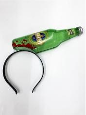 Zombie Beer Bottle Through Head