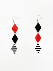 Playing Cards Earrings - Halloween Decorations