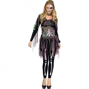 3D Skeleton Guts Belt - Halloween Decorations