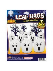 GHOST LEAF BAGS - Halloween Decorations