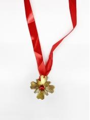 Vampire medallion Necklace - Halloween Decorations