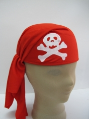 Red Pirate Cap - Hat