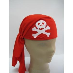 Red Pirate Cap - Hat