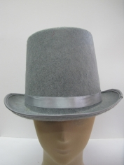 Gray Top Hat