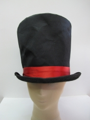 Mad Hatter Jumbo Hat Black