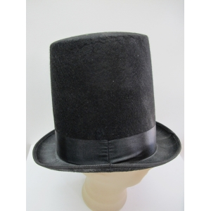 Black Top Hat (Tall)