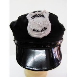 Police Hat (Black) - Hat