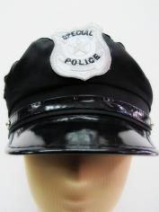 Police Hat (Blue) - Hat