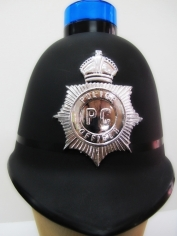 Policeman Helmet with lights - Hat