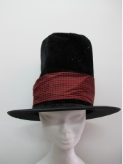 Soft Black Top Hat
