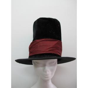 Soft Black Top Hat