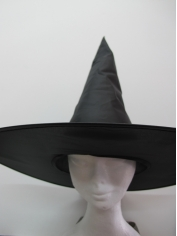 Black Witch Hat - Halloween Costume Accessories