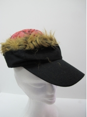 Zombie Brain Black Cap - Halloween Costume Accessories