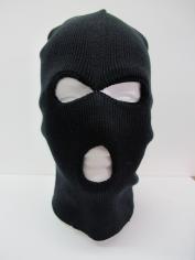 Black Balaclava Beanie - Hats