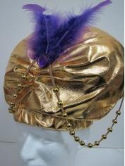 Gold Desert Prince Turban - Hats