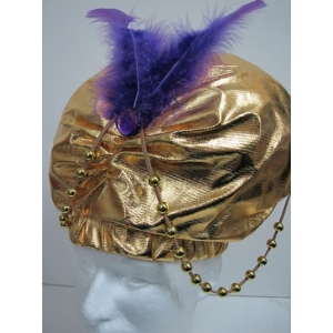 Gold Desert Prince Turban - Hats