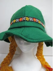 Beer Girl Hat - Oktoberfest Costumes