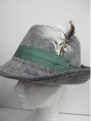Gray German Oktoberfest Hats