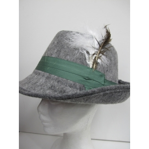 Gray German Oktoberfest Hats
