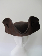 Deluxe Brown Buccaneer Hat - Hats
