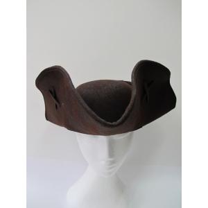 Deluxe Brown Buccaneer Hat - Hats