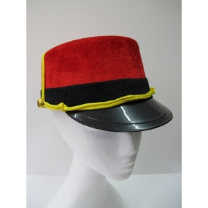 Red Train Conductor Hat