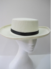 Boater Hat - Hats