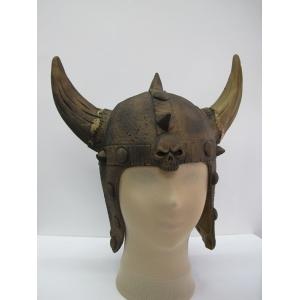Rubber Viking Helmet (Gold) - Hat