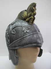 Pegasus Helmet Silver/Gold - Hat