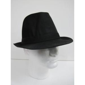 Black Trilby - Hats