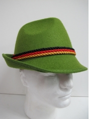 Green German Oktoberfest Hats