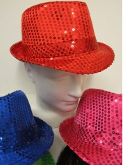 Sequin Trilby - Hat