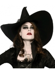 Deluxe Witches Hat - Halloween Costume Hat