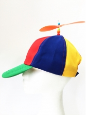 Rainbow Propeller Hat