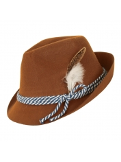 Brown Bavarian Hat - Oktoberfest Costumes