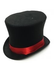 Black Mad Hatter Hat