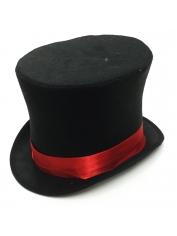 Black Mad Hatter Hat