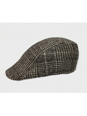 Golfer Hat Dark Grey - Golf Costumes