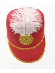 Toy Soldier Hat Red - Nutcracker Drum Hat