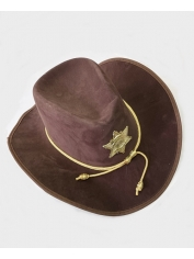 Deluxe Sheriff Hat - Cowboy Hats