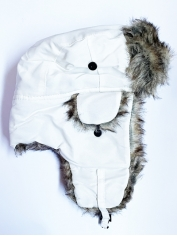 Russian Hat White - Aviator Pilot Hats