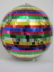 30cm Multi Color Mirror Ball