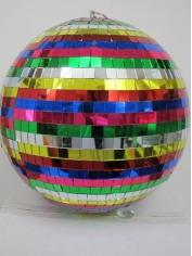 30cm Multi Color Mirror Ball