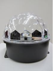 LED Crystal Ball Disco Light
